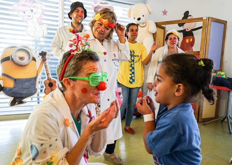 La figura dei clown dottori