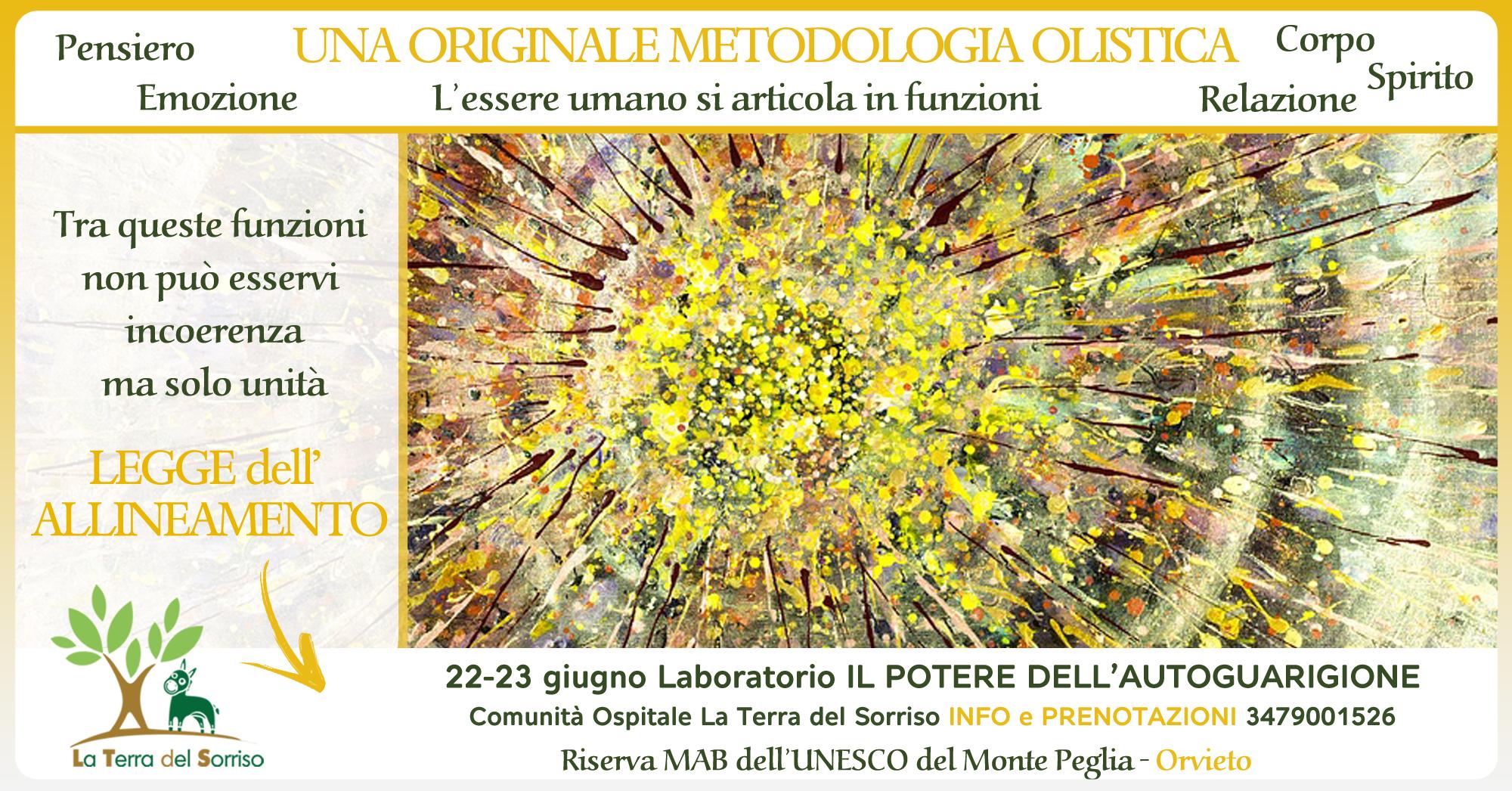 UNA ORIGINALE METODOLOGIA OLISTICA