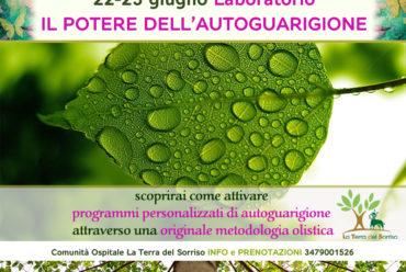 LABORATORIO IL POTERE DELL'AUTOGUARIGIONE